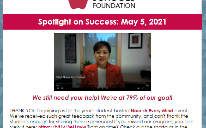 Spotlight on Success: May 5, 2021
