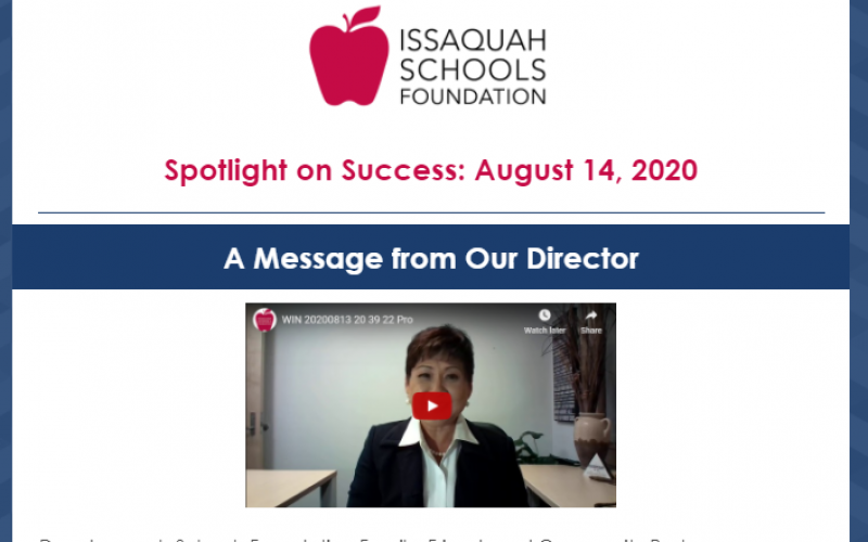 New Article: Spotlight on Success: August 14, 2020