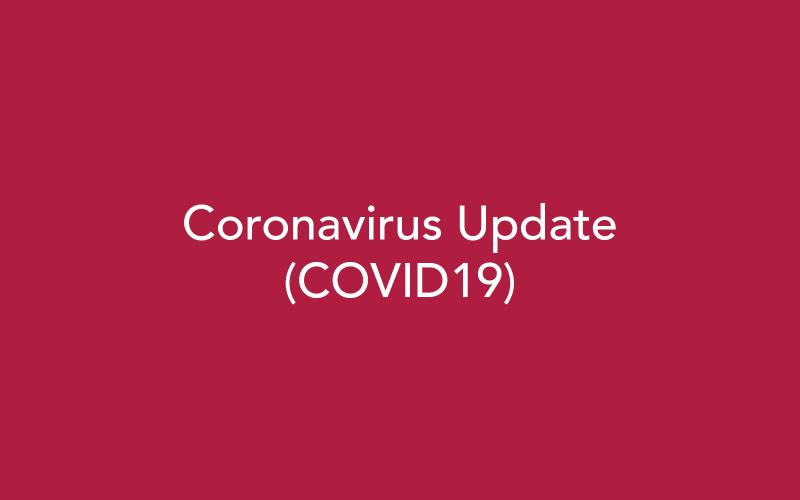 Cornona Virus Update Article Image