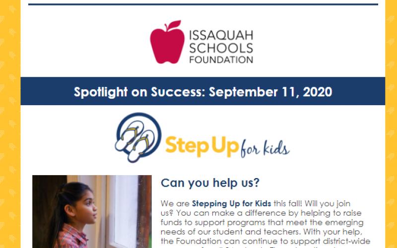 Spotlight on Success: Sept 11, 2020 Article Image